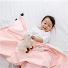 코지 블랭킷 - 핑크테슬 (극세사 아기담요)
